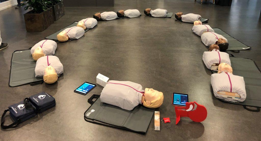 utrustning vid första hjälpen-utbildningen
